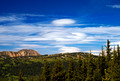 Lenticular Clouds - Looking north over the alpine meadows of Manning Park