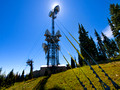 The microwave tower in Manning Park at approximately the 5500ft. level