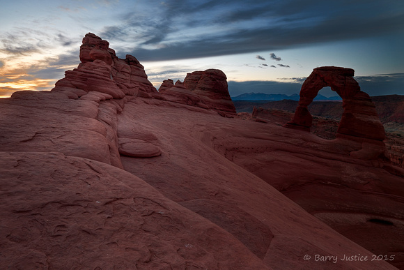 First Light at Delicate Arch
